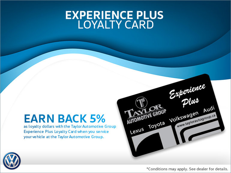 Get the Experience Plus Loyalty Card!