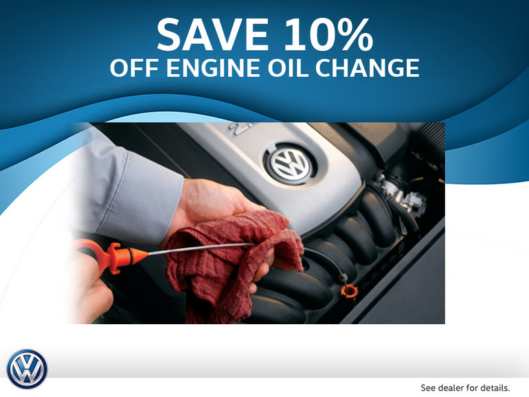 Get 10% Off Oil Change