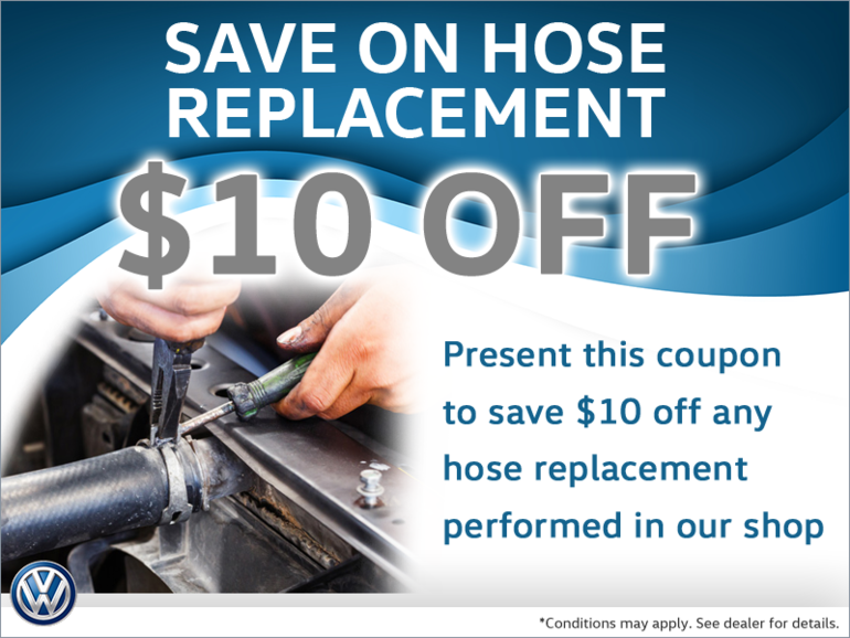 $10 Off Any Hose Replacement