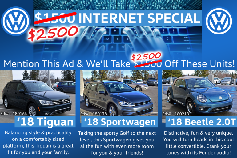 $2500 Instant Internet Discount!