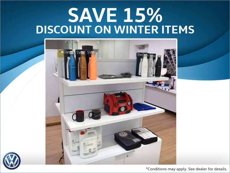 Save 15% Off Winter Items