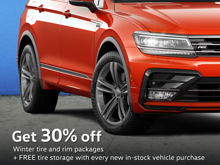 Get 30% Off Winter Tire Packages