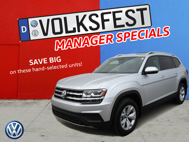 Volksfest Managers Specials