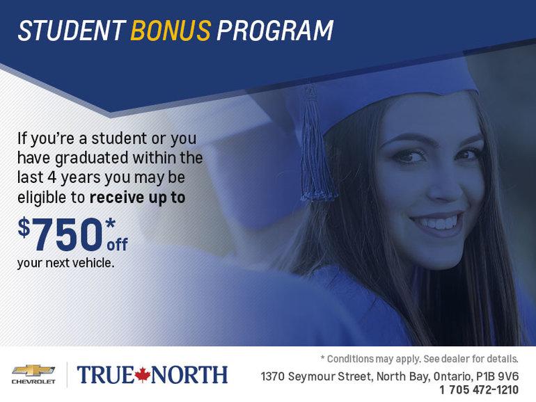 Student Bonus Program