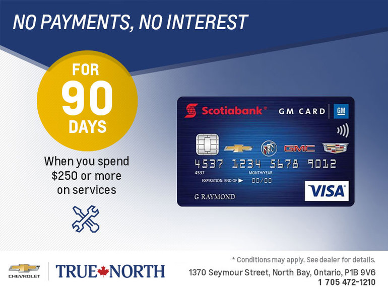 The Scotiabank GM Card