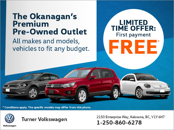 The Okanagan's Premium Pre-Owned Outlet!