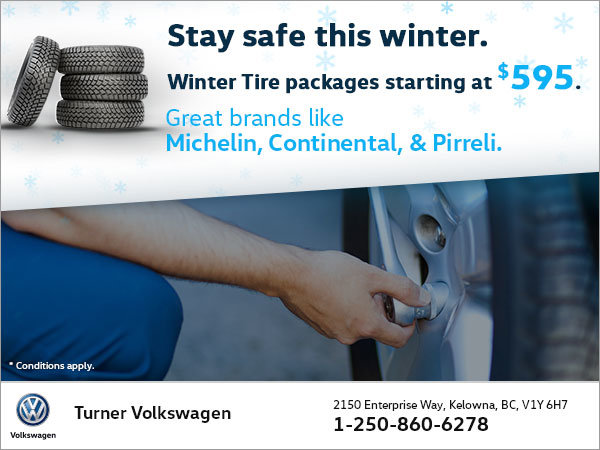 Winter Tire Specials!