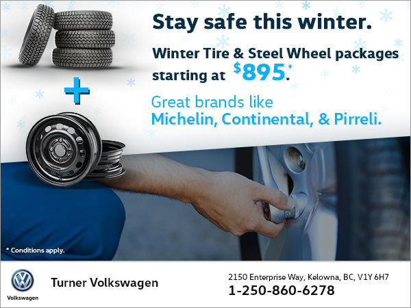 Get Your Winter Tires and Steel Wheels!