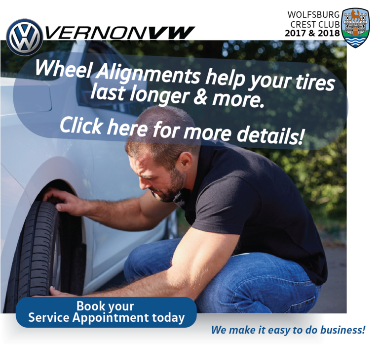 Don't forget your wheel alignment