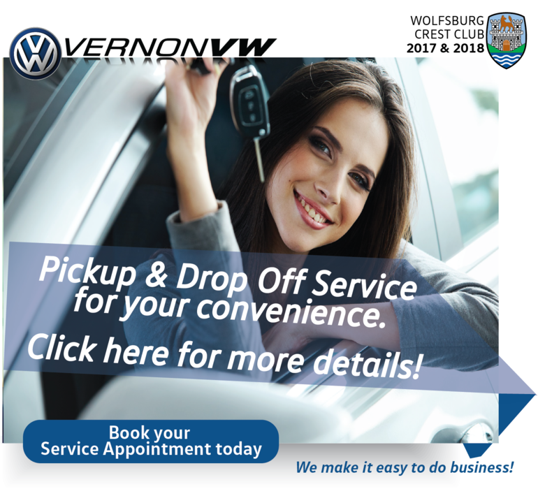Ask us about our Pickup & Drop Off Service