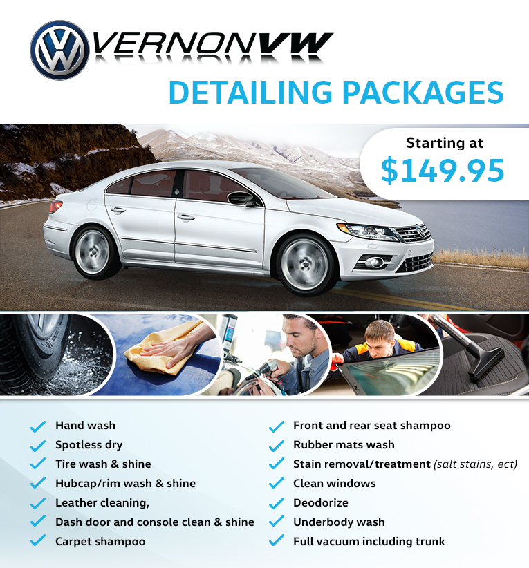 Volkswagen Detailing - Get that new car feeling all over again
