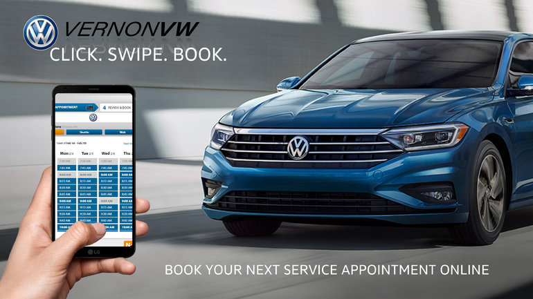 Book your next service appointment online