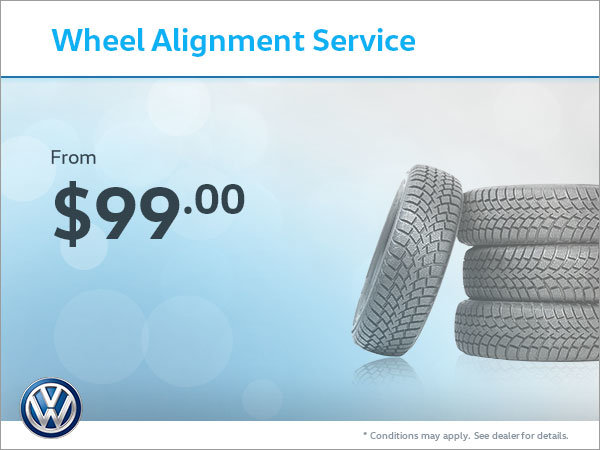 Get Your Wheels Aligned From $99!