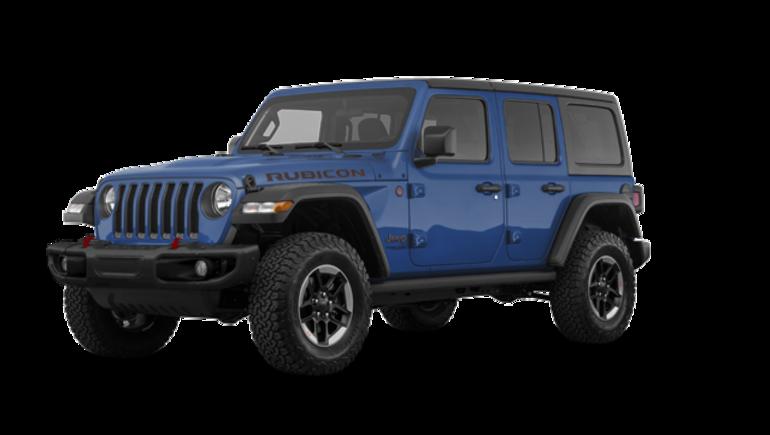 Dark Blue Jeep Wrangler 2019