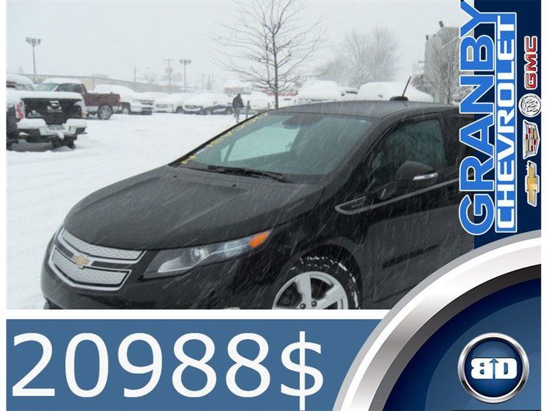 Granby Chevrolet Cadillac Buick Gmc Pre Owned 2015 Chevrolet Volt