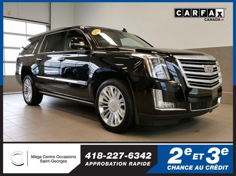 Cadillac Escalade ESV Platinum / AWD / 22