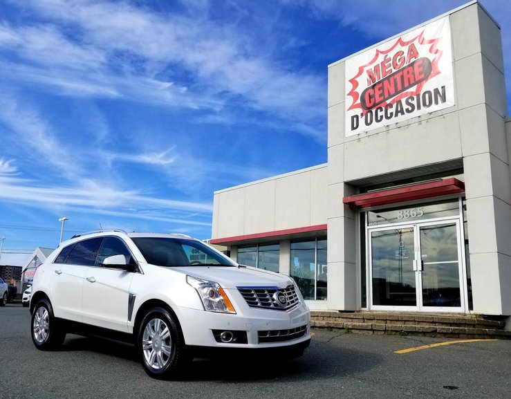 Mega Centre Occasions Pre Owned 2014 Cadillac Srx Luxury For Sale