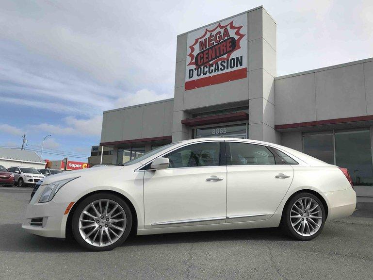 Mega Centre Occasions Pre Owned 2015 Cadillac Xts Vsport Platinum