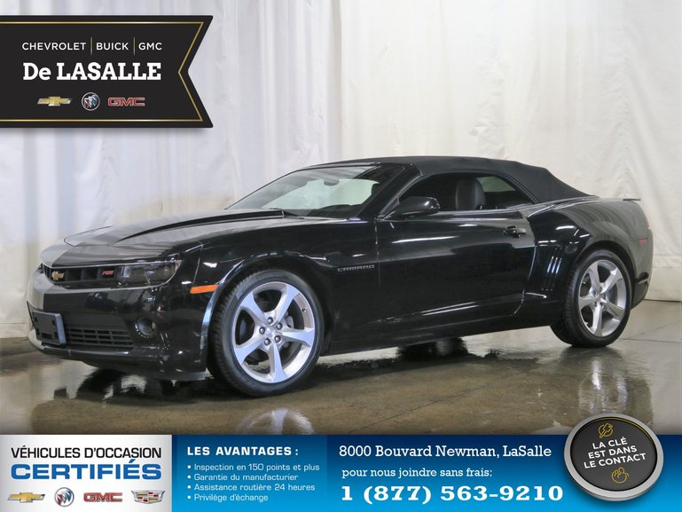 Groupe Couture Pre Owned 2015 Chevrolet Camaro 2 Lt Convertible