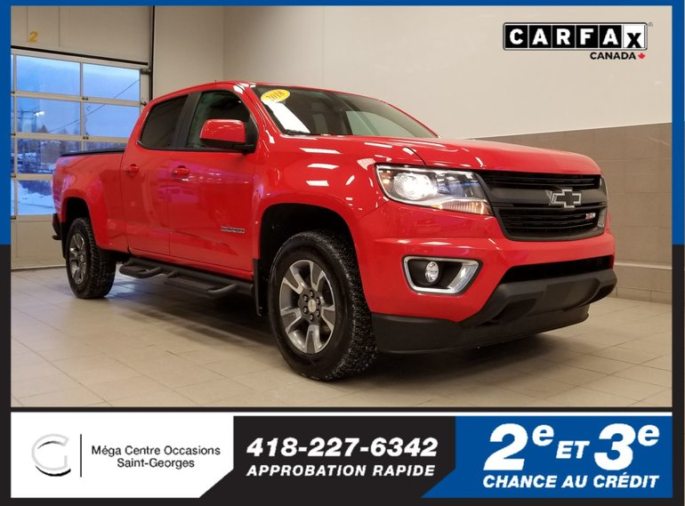 Mega Centre Occasions Pre Owned 2018 Chevrolet Colorado