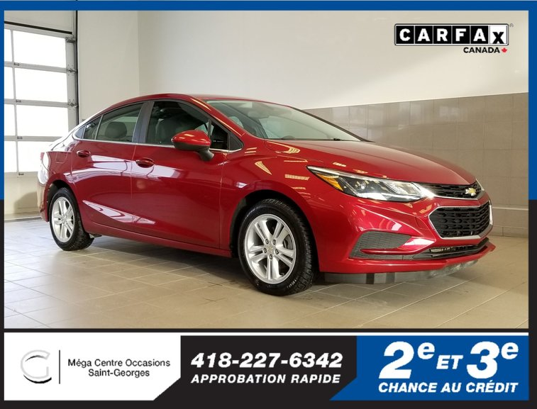 Chevrolet Cruze LT / TURBO / 4G LTE 2017
