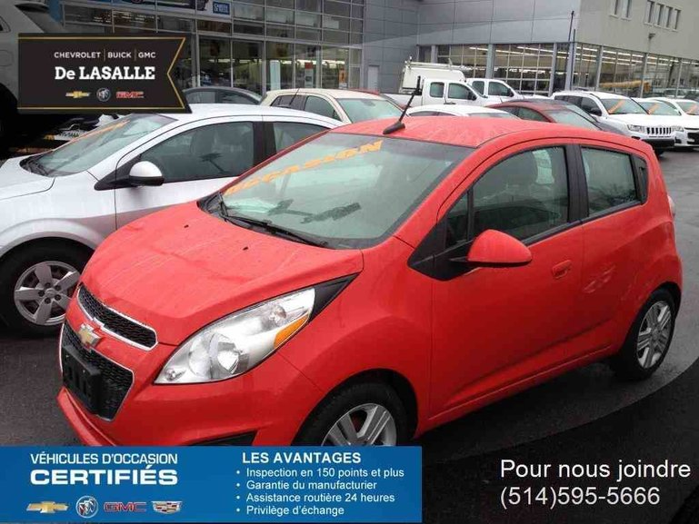 Groupe Couture Pre Owned 2016 Chevrolet Spark Lt For Sale In Saint