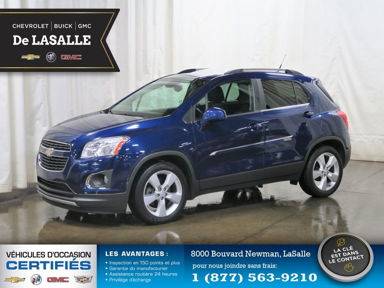 Groupe Couture Pre Owned 2014 Chevrolet Trax Ltz For Sale