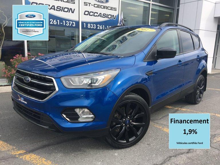 Ford Escape SE AWD BLACK PACK CERTIFIÉ FORD TAUX 1.9% 72 MOIS 2017