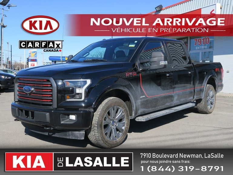 Ford F-150 Lariat // Toit Pano // Cuir // Cam 360 // GPS // 2017