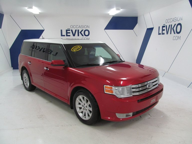 ford flex sel awd dvd 2010 d 39 occasion l vis. Black Bedroom Furniture Sets. Home Design Ideas