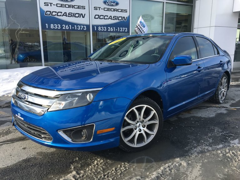 Ford Fusion SEL ENS SPORT V6 CUIR TOIT AILERON IMPECCABLE 2012