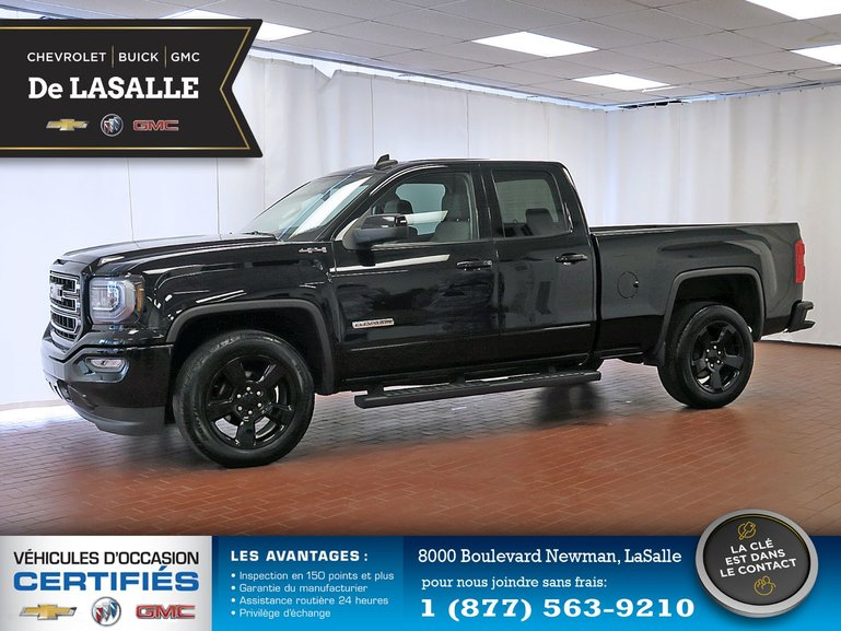 Gm Ile Perrot >> Groupe Couture Pre Owned 2018 Gmc Sierra 1500 Elevation 4wd For