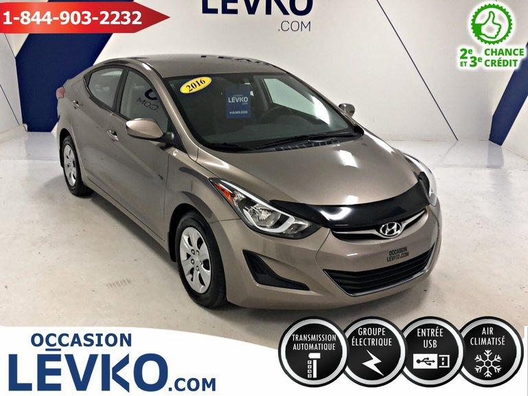 Hyundai Elantra L+ 2016