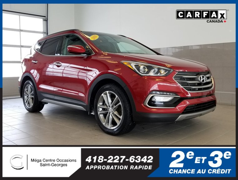 Hyundai Santa Fe Sport LIMITED / CUIR / TOIT 2018