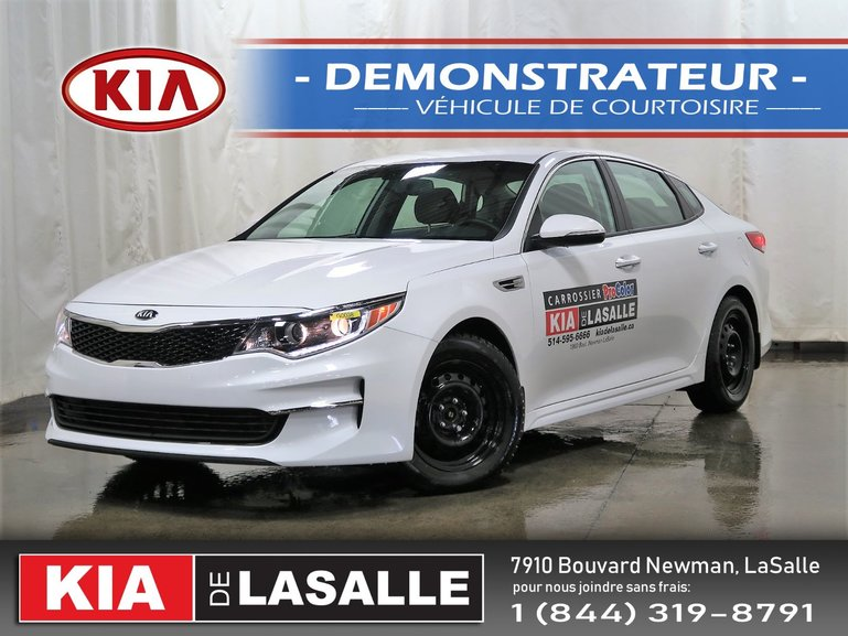 Kia Optima LX ECO Turbo // 8 roues // Camera // Sieges chauf. 2016