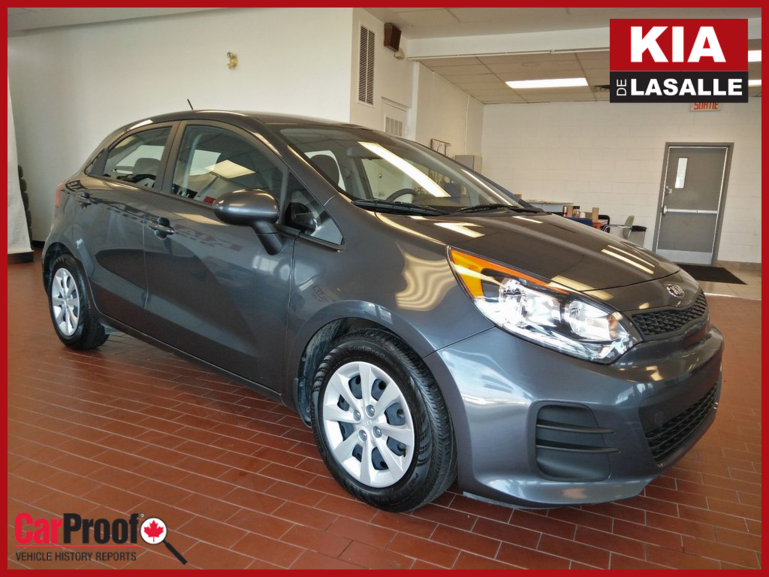 2017 Kia Rio5 LX+ // Bluetooth // A/C // Sieges chauffants...