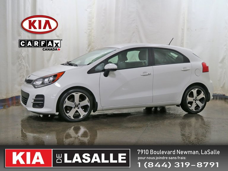 Kia Rio5 SX // Cuir // Camera // Bluetooth // Mags ... 2016