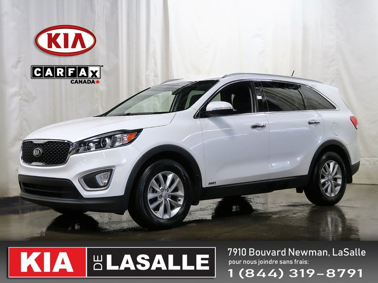 Kia Sorento LX+ V6 AWD // 7 Passagers // Camera // Bluetooth.. 2016