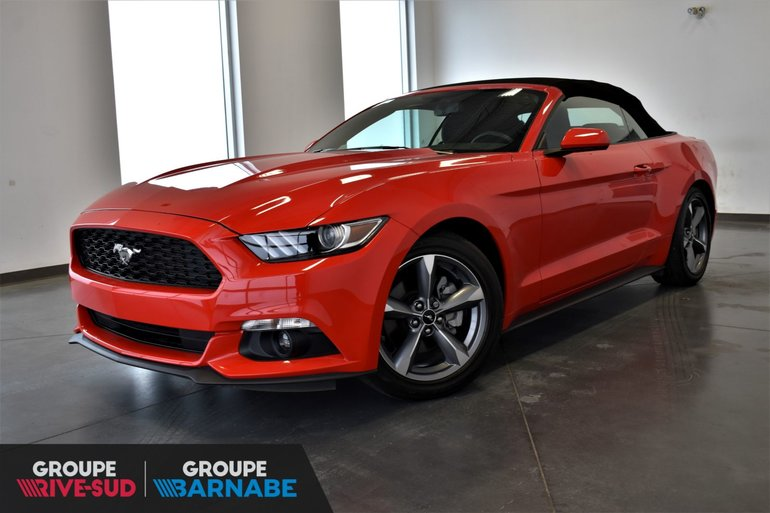 Nissan De Brossard Pre Owned 2016 Ford Mustang V6 Decapotable Mags Bas Kilometrage For Sale In Brossard