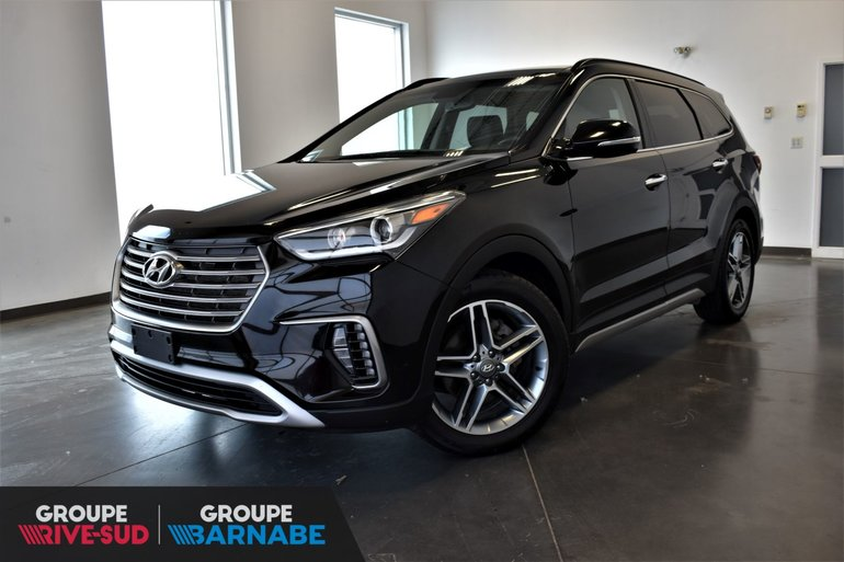 Nissan De Brossard Pre Owned 2017 Hyundai Santa Fe Xl Limited Awd Toit Panoramique Navi 7 Pass For Sale In Brossard