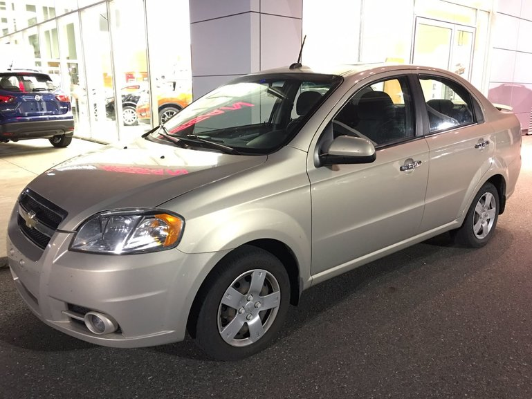 Cowansville Nissan Pre Owned 2010 Chevrolet Aveo Lt Air