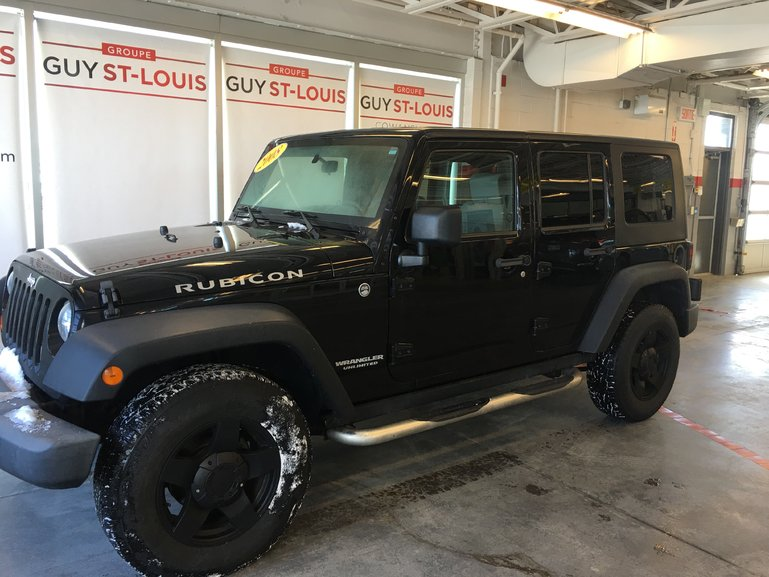 jeep wrangler rubicon 2008 d 39 occasion cowansville inventaire d 39 occasion cowansville toyota. Black Bedroom Furniture Sets. Home Design Ideas