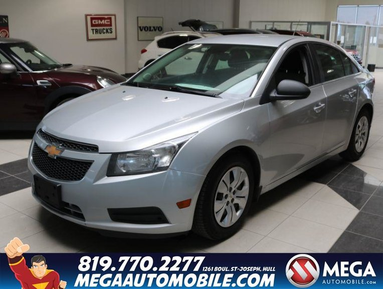 2012 Chevrolet Cruze Ls >> Pre Owned 2012 Chevrolet Cruze Ls In Ottawa And Gatineau