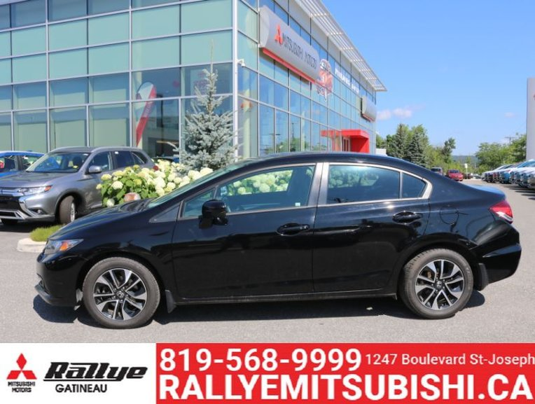 Pre-Owned 2015 Honda Civic Sedan EX in Ottawa and Gatineau region