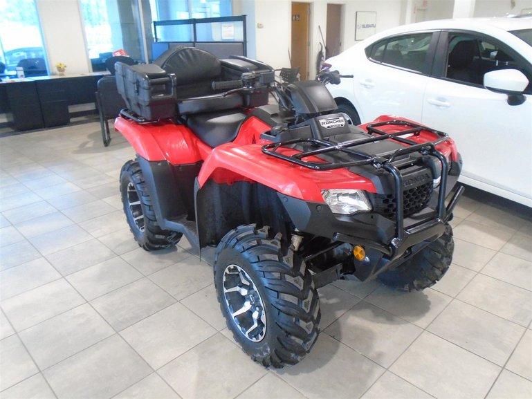 2018 Honda Rancher TRX420 4X4