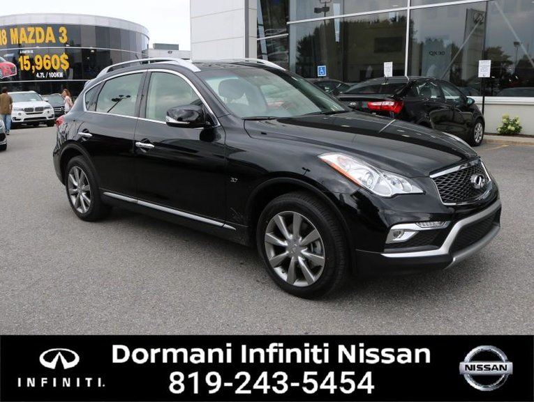 2017 Infiniti QX50 PREMIUM, AWD, REMOTE STARTER, WINTER TIRES , LEATHER , CAMERA, 5 YEAR AT 2.99%, 6 YEAR 160000KM WITH INFINITI CERTIFIED INCLUDE