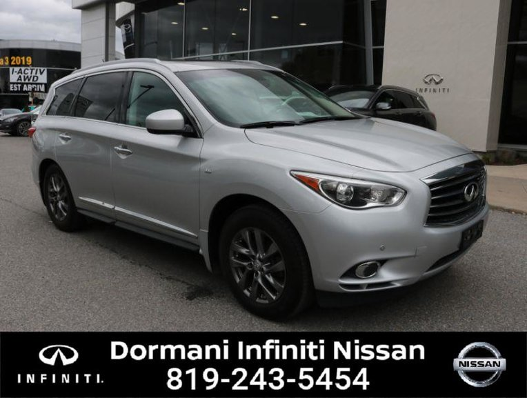 2015 Infiniti QX60 PURE AWD, LEATHER, 7 PASSENGER, NAVIGATION