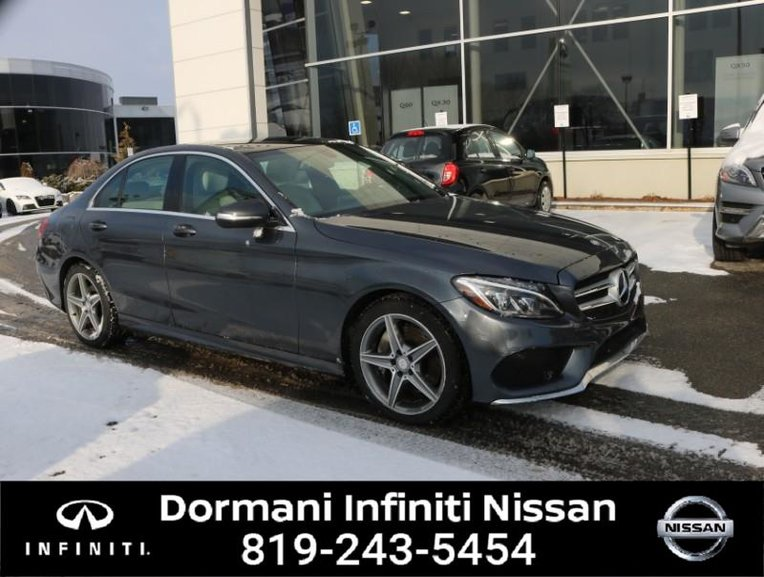 2015 Mercedes-Benz C300 C300 4MATIC Sedan gps