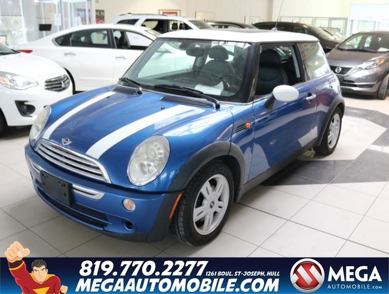 Pre Owned 2006 Mini Cooper Hb Sold As Is In Ottawa And Gatineau