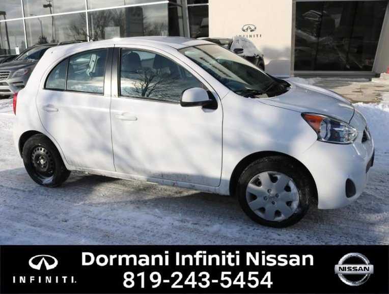 2017 Nissan Micra MICRA S. A/C, NISSAN CERTIFID, RATE FROM 2.49%, 6 YEAR 120000KM WARRANTY